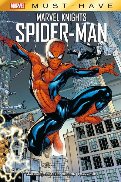 Marvel Must-Have - Marvel Knights - Spider-Man Cover