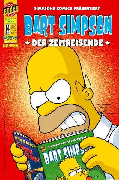Bart Simpson Comics 14