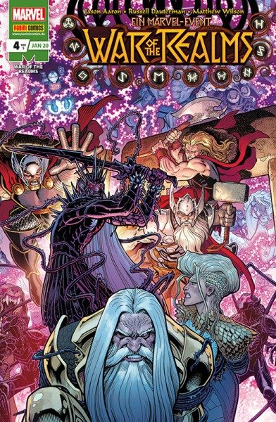War of the Realms 4 Cover