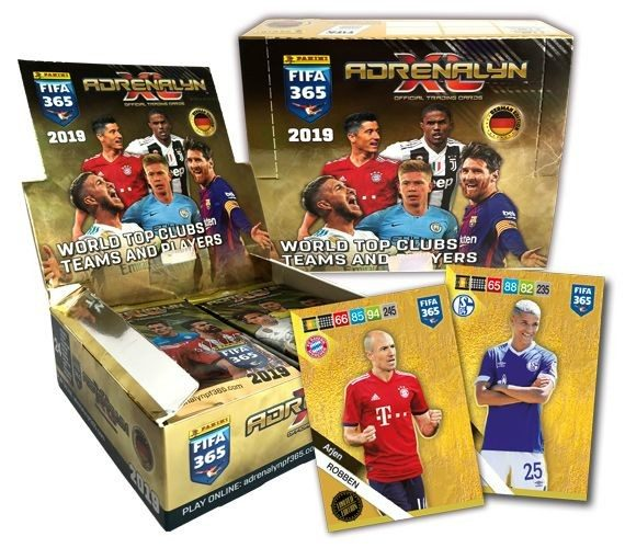 Panini FIFA 365 Adrenalyn XL 2019 Kollektion – Starter-Bundle 3