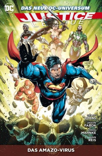 Justice League Paperback 9 (2013) - Das Amazo-Virus