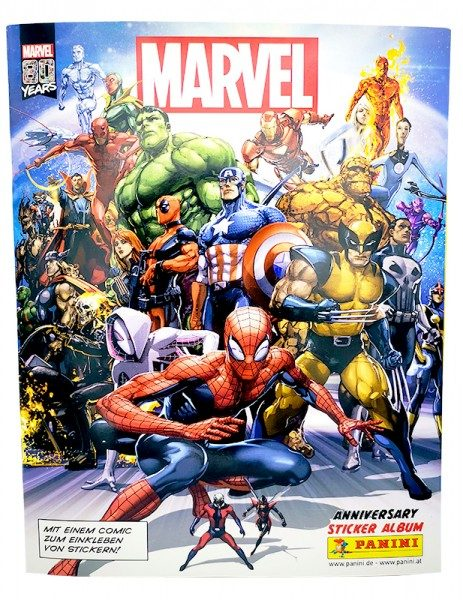 80 Jahre Marvel Sammelkollektion - Sticker und Cards Album Cover
