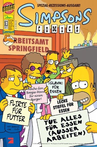 Simpsons Comics 83