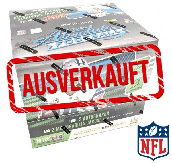 Absolute Football 2020 Trading Cards - Hobbybox - ausverkauft