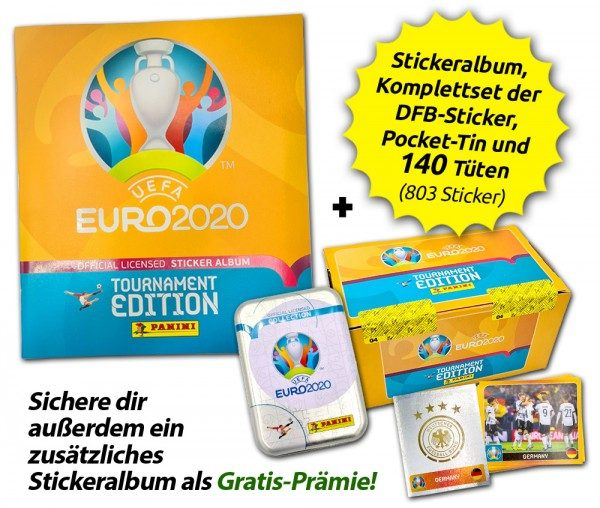 UEFA EURO 2020™ Tournament Edition - Offizielle Stickerkollektion - Collector's Bundle