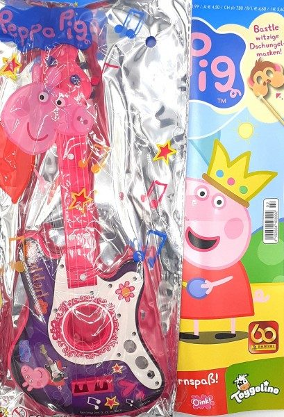 Peppa Pig Magazin 02/21 Cover mit Extra