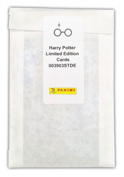 Harry Potter- Sticker und Cards - Limited Edition Card Set