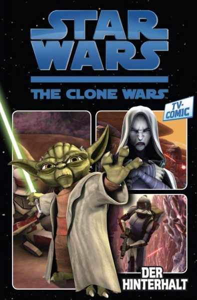 Star Wars TV-Comic - The Clone Wars 1 - Der Hinterhalt
