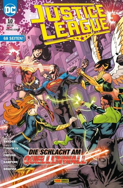 Justice League 10 Cover
