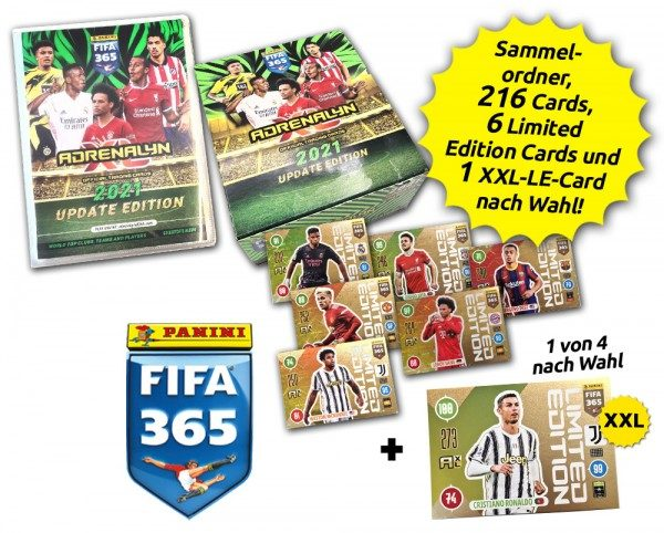 Panini FIFA 365 AXL 2021 Update Collection - Update-Total-Bundle