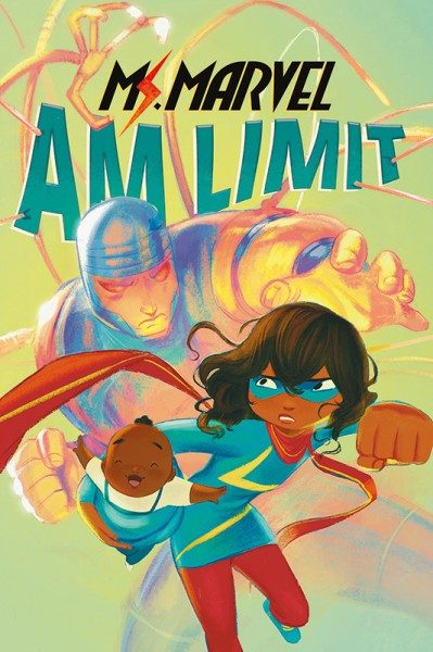 Ms. Marvel - Am Limit Cover
