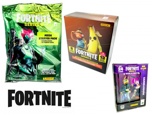 Fortnite Series 2 Trading Cards - Icrimax Bundle small