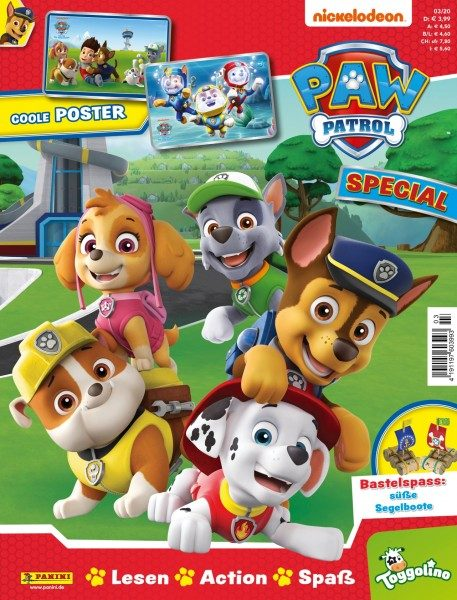 Paw Patrol Special Magazin 03/20 Cover