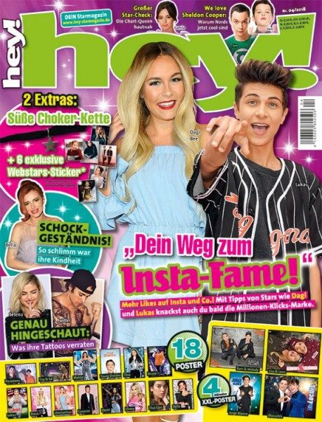 hey! Magazin 04/18