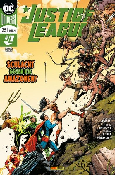 Justice League 25 Cover