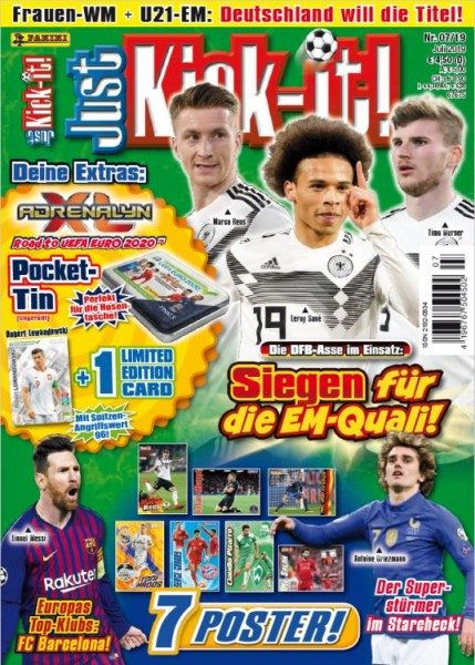 Just Kick-It! Magazin 07/19