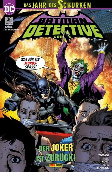 Batman - Detective Comics 36 Cover