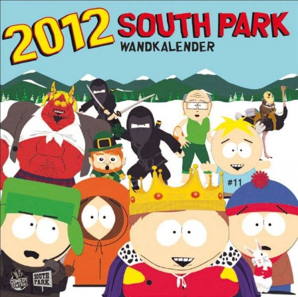 South Park - Wandkalender (2012)