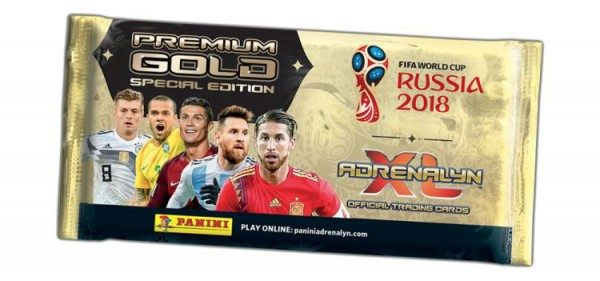 2018 FIFA World Cup Russia Adrenalyn XL - Premium Gold Tüte