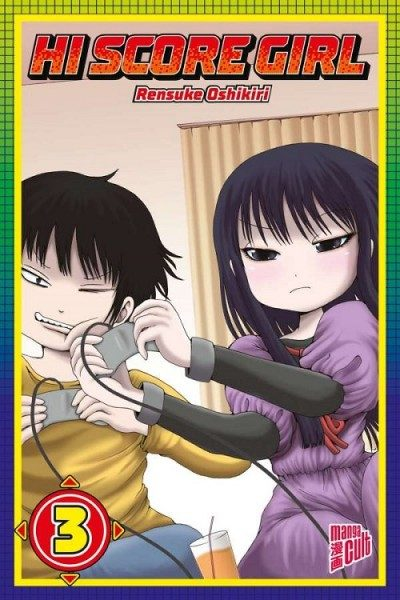 Hi Score Girl 3 Cover