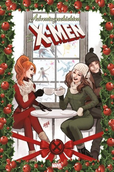 Adventsgeschichten mit den X-Men Cover