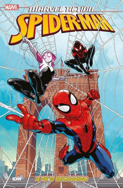 Marvel Action - Spider-Man 1 Cover