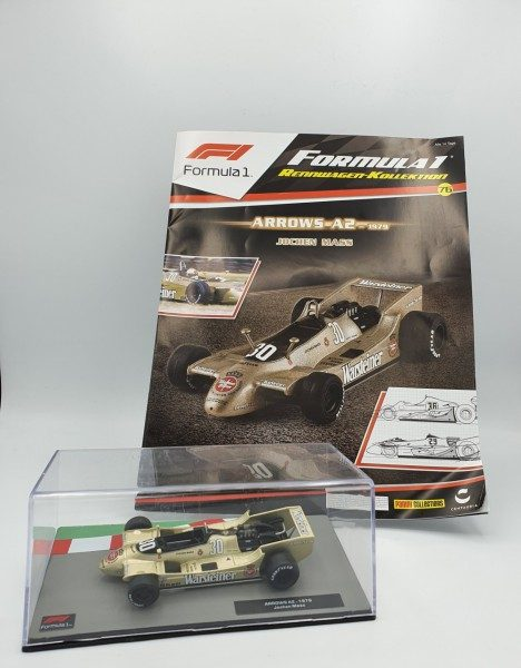 Formula 1 Rennwagen-Kollektion 76 - Jochen Mass (Arrows-A2)