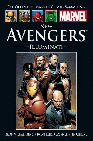 Hachette Marvel Collection 201 New Avengers - Illuminati Cover