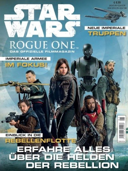 Star Wars - Rogue One - Das offizielle Filmmagazin