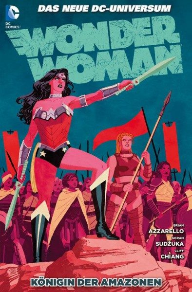 Wonder Woman 6 (2012) - Königin der Amazonen