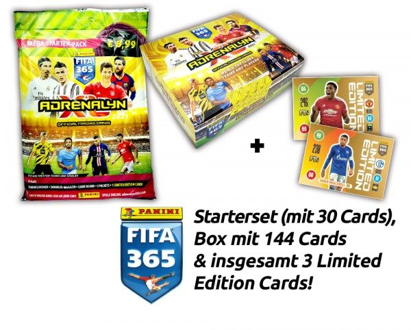 Panini FIFA 365 Adrenalyn XL 2021 Kollektion - Box-Bundle