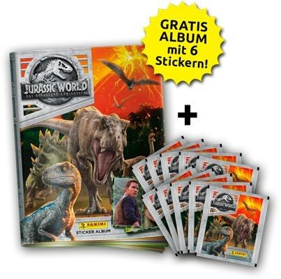 Jurassic World Movie Stickerkollektion - Bundle 1