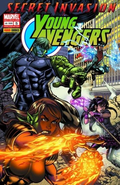 Young Avengers 5 - Secret Invasion