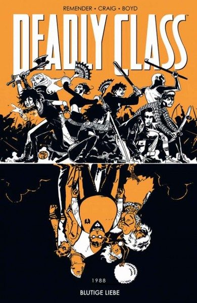 Deadly Class 7 - Blutige Liebe Cover