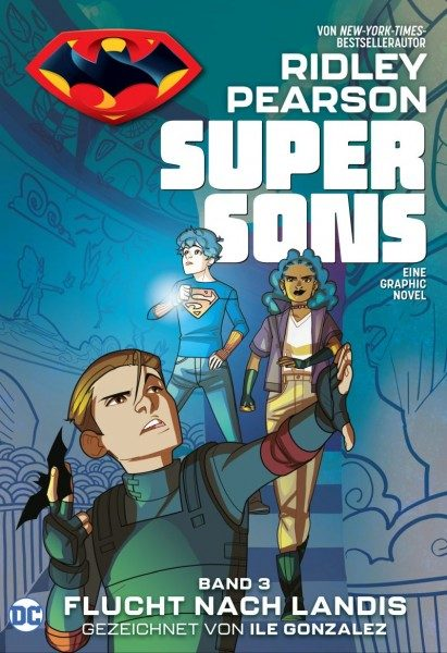Super Sons 3 - Flucht nach Landis Cover