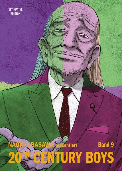 20th Century Boys Ultimative Edition 9 Cover