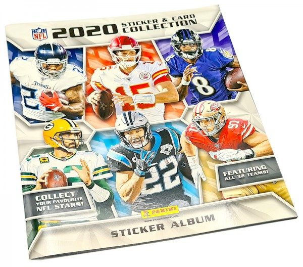 NFL 2020 Sticker & Trading Cards - Album