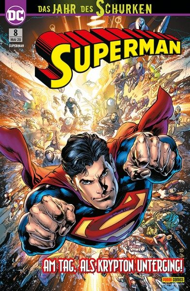 Superman 8 Cover