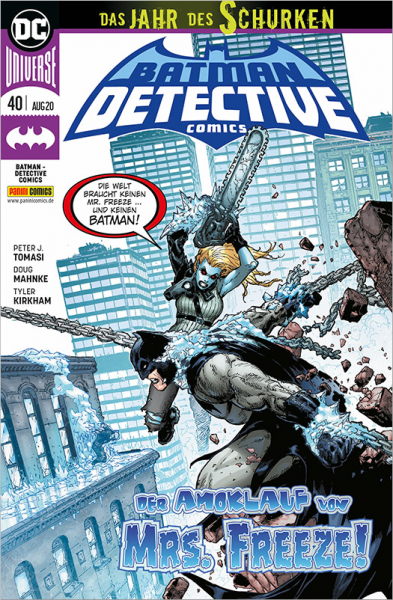 Batman: Detective Comics 40 Cover