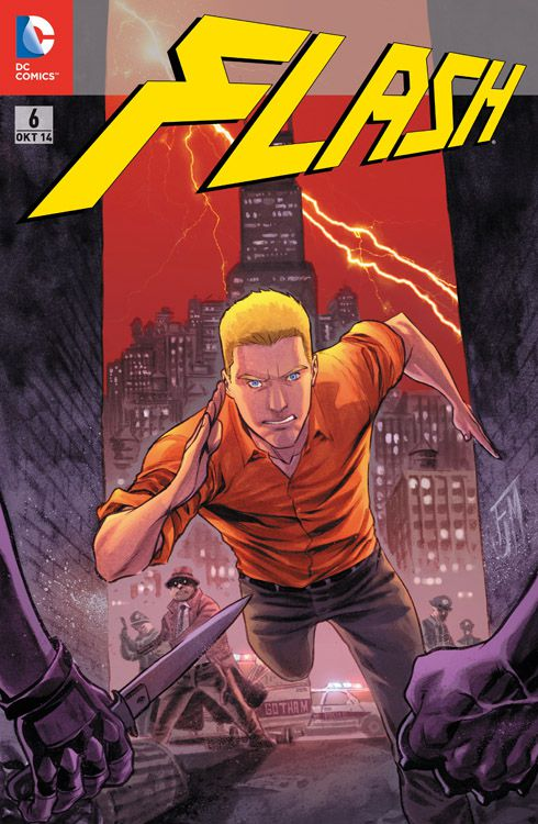 Flash 6 Variant - Comic Action 2014
