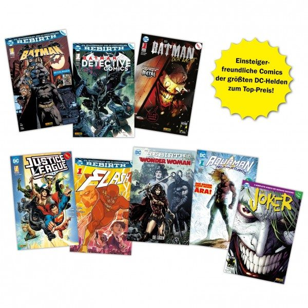 DC Comics - Starter-Bundle