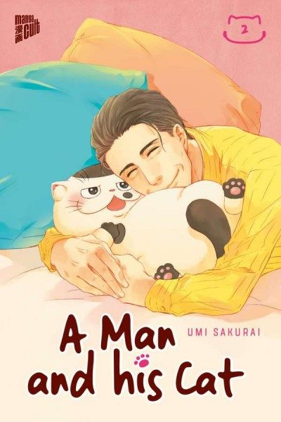 A Man and His Cat 2 Cover