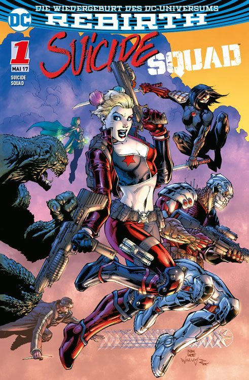 Suicide Squad 1 (2017) Variant A