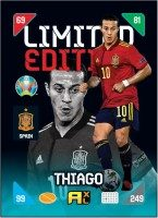 UEFA EURO 2020™ Adrenalyn XL™ 2021 Kick Off – LE Card – Thiago (Spanien)