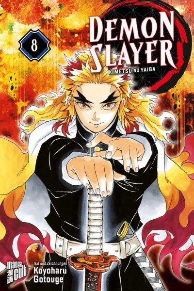Demon Slayer - Kimetsu No Yaiba 8 Cover