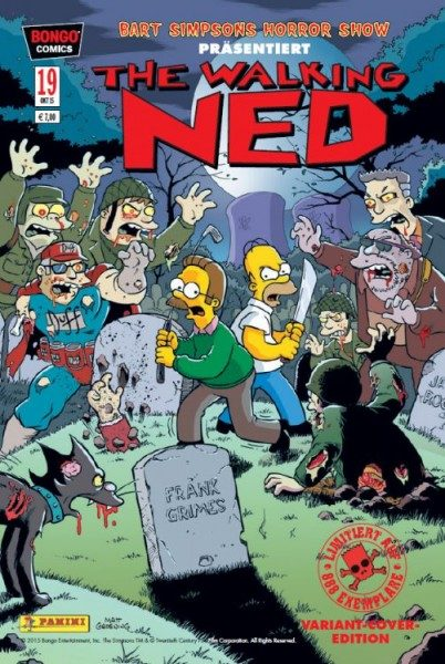 Bart Simpsons Horrorshow 19 Variant - Comic Action 2015