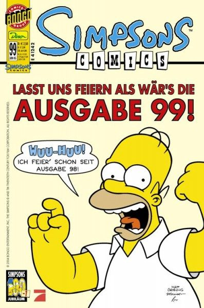 Simpsons Comics 99