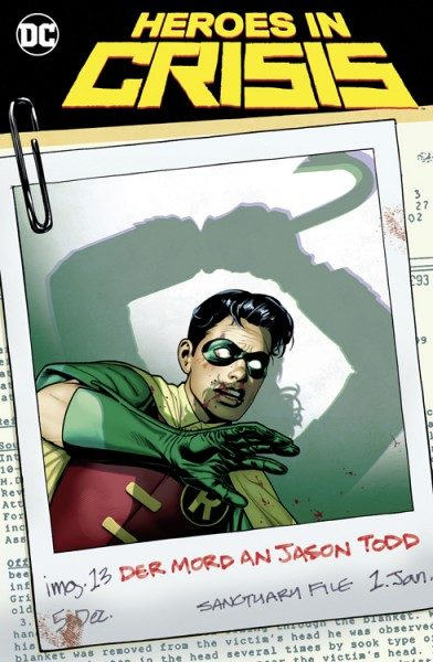 Heroes In Crisis 3 Variant Cover