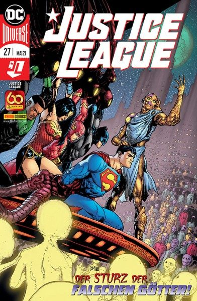 Justice League 27 Cover