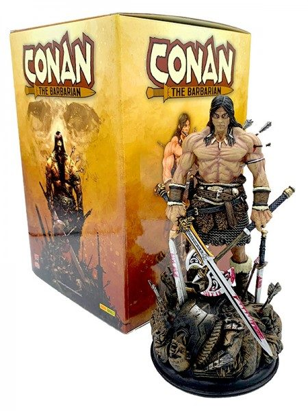 Conan der Barbar: Limitierte Collectors Box (Artbook und Statue) Box